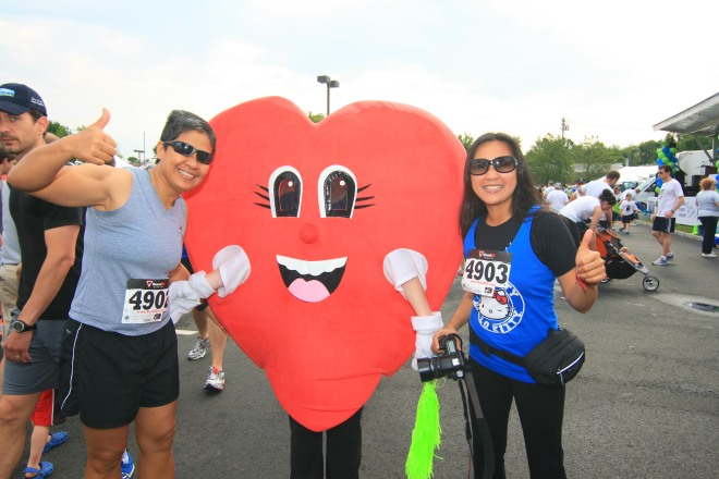 Ms. Pumps and Friends at the Share NJ 5K!
